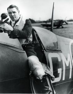 """A South African by birth, A.G. """"Sailor"""" Malan became one of the great Royal Air Force fighter leaders during the Battle of Britain. In the summer of 1940, Malan commanded the legendary 74 Squadron, which helped stop the advance of Germany's Luftwaffe."""