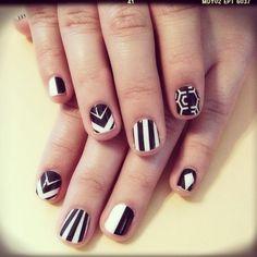 Black + White Patterns