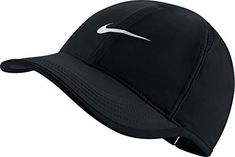 Nike Women s Featherlight Cap Black White One Size fb055f1c6c4a