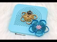 Quilling paper how to make Flower(Rose) Using Quilling Kit Board Quilling Flowers Tutorial, Quilling Instructions, Paper Quilling Flowers, Paper Quilling Cards, Quilling Work, Paper Quilling Jewelry, Paper Quilling Patterns, Quilled Paper Art, Flower Tutorial