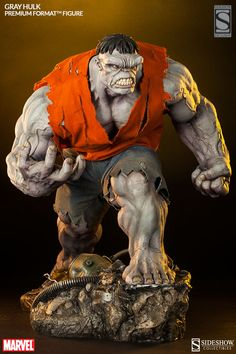 Gray Hulk Premium Format Figure by Sideshow Collectibles - Exclusive Version
