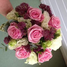 Beautiful bouquet from Poppies Florist, Church Path, Yeovil.