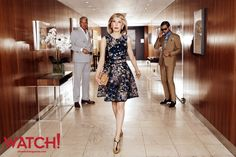 Perfectly photogenic | When you're a natural beauty like The Good Wife's Christine Baranski, it's hard to take a bad picture.