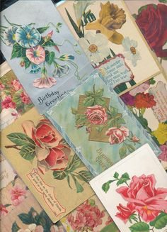 Postcards,Vintage,Mixed Holiday Greeting Lot of 15 1900's-aaa254