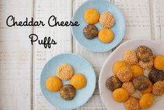 Cheddar Cheese Puffs on Weelicious