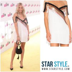 Stassi Schroeder wore a NBD dress to Wango Tango  Shopping info at www.starstyle.com