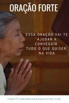 Oração forte para conseguir alcançar seus objetivos na vida! Clique na imagem e confira! #oração #vida #viver