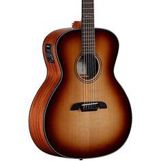 Alvarez AG610ESHB Grand Auditorium Acoustic-Electric Guitar Shadow Bur