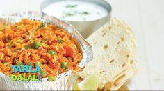 Tava Pulao, Tawa Pulao recipe by Tarla Dalal