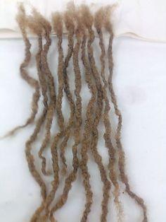 50 handmade dread 100% human hair dreadlocks about 6''  #Humanhairdreadlocks #Dreadlocks