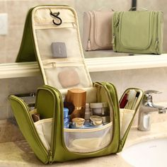 Portable Hanging Wash Bag Toiletry Organizer Travel Make Up Men Ladies Cosmetic