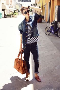 moda uomo - denim - men's fashion - cool hunter