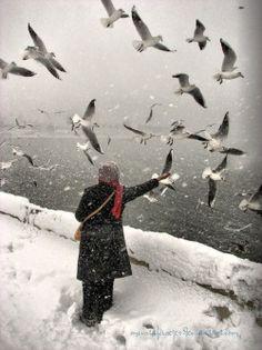 İstanbul winter Türkiye