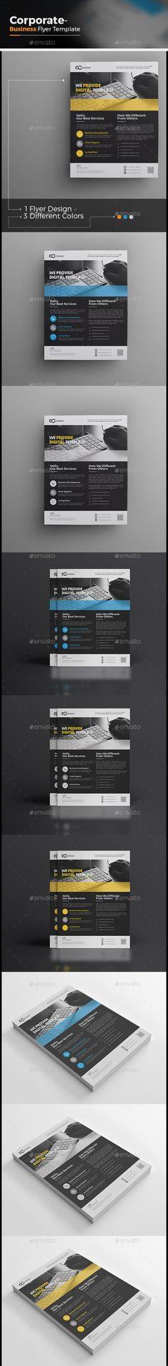 Flyer Template PSD Flyer Templates Pinterest Flyer template - sell sheet template