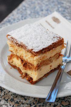 The Best Krémes (Café Gerbeaud, Budapest, Hungary)