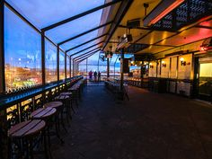 Discover the best rooftop bars in Washington, DC. Watch a sunset or admire the skyline with a cocktail in hand while at these outdoor drinking establishments. Rooftop Bar Bangkok, Best Rooftop Bars, Rooftop Restaurant, Sky Bar, Washington Dc Travel, Unique Restaurants, Cool Bars, Night Life, In The Heights