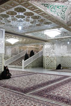 Dar-al-Ejabah Porch,Imam Reza shrine, Mashhad, Iran(Islamic Art)