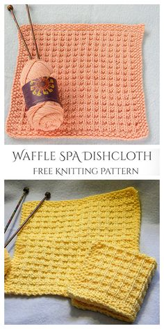 Knitted Dishcloth Patterns Free, Knitted Washcloths, Animal Knitting Patterns, Jumper Knitting Pattern, Knit Dishcloth, Knitting Stitches, Knitting Designs, Free Knitting, Knitting Projects