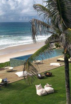 Beach it in #Brazil.  Appreciated by @escape2tropics on Twitter.