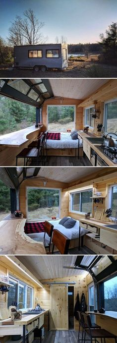 Tiny House Plans Tiny House Plans Small Bathroom Ideas Small Living Room Ideas DIY Room Decor Space Saving Furniture Under Bed Storage Inspirat Best Tiny House, Tiny House On Wheels, Small House Plans, Tiny House Trailer Plans, Tiny Cabin Plans, Micro House Plans, Tiny Little Houses, Tiny House Movement, Tiny House Living