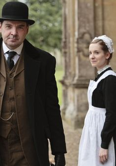 """""""I love you, Mr. Bates! And I know it's not ladylike to say so, but I'm not a lady and I don't pretend to be."""""""