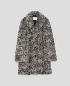 Image 8 of FAUX FUR COAT from Zara