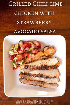 This tasty recipe for grilled chili-lime chicken with strawberry avocado salsa is a great healthy option for the family. Put to use local organic ingredients and stay fresh for summer!