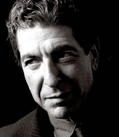 Photo: Leonard Cohen In Closeup - 1985
