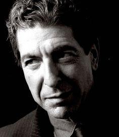 Photo: Leonard Cohen In Closeup - 1985
