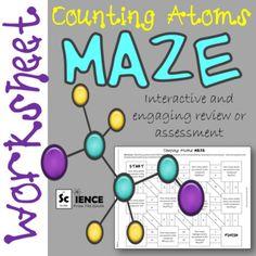 counting atoms worksheet editable worksheets equation and chemistry. Black Bedroom Furniture Sets. Home Design Ideas