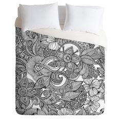 Valentina Ramos Doodles Duvet Cover | DENY Designs Home Accessories