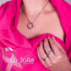 |October is Breast Cancer Awareness month| 🌷💪🏼💪🏽💪🏿🌷As always La Jolla is proud to support this year with our beautiful pieces that not only tell a story of love, happiness and beauty but also carry the prettiest color in the rainbow! In La Jolla we are a team of strong women working to build a brighter future. PINK EVERYTHING.#lajolla #colorful #taiwan #taipei #asia #jewelry #gem #fashion #style #accessories #breastcancerawareness #bracelet #ring #earring#tumblr #pendant #photography…