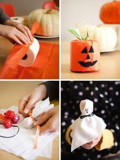 Tons of fun & easy halloween craft ideas