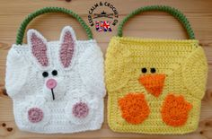 Easter Bag Buddies pattern release 14 April from Keep Calm and Crochet On UK