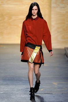 Proenza Schouler- i want this whole outfit for fall.