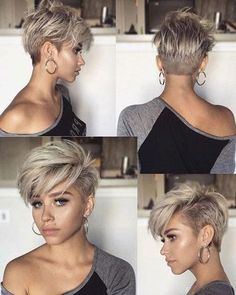 54 Latest Short Pixie Cuts for 2020 - Refresh Your Look Today! - 54 Latest Short Pixie Cuts for 2020 – Refresh Your Look Today! 100 New Short Hairstyles for 201 - New Short Hairstyles, Short Pixie Haircuts, Pixie Hairstyles, Formal Hairstyles, Easy Hairstyles, Pixie Haircut For Round Faces, Hairstyle Short, Hairstyles Haircuts, Short Hair Cuts For Women