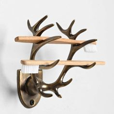 Antlers style toothbrush stand~蝗蟲 / 鹿角牙刷架