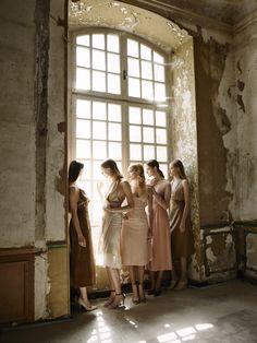 Brahman's Home session at Chateau de Gudanes. Fot. Sonia Szóstak #BrahmansHome #BrahmansFiveElements #Brahmans #SirHenryStudio #Design #Interiordesign #photoshoot #photosession #fashion #luxuryfashion #chateaugudanes #France #houtecouture #finearts