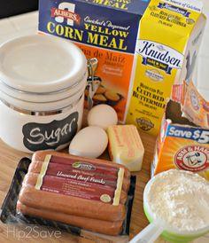 Recipe for Mini Corn Dog Muffins Hip2Save