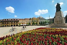 PHOTO: Churches, cafes, fountains, and shops make pretty Kossuth Square the center of life in Debrecen, Hungary Danube River, Central Europe, Hungary, Budapest, Wonders Of The World, Croatia, Travel Photography, Places To Visit, Around The Worlds