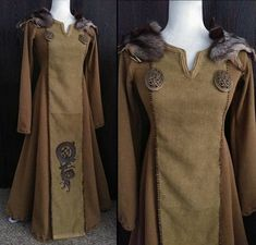 Your place to buy and sell all things handmade Viking Garb, Viking Dress, Viking Costume, Renaissance Costume, Medieval Costume, Medieval Dress, Larp Costumes, Norse Clothing, Medieval Clothing