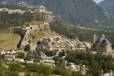 A view of Briancon old town