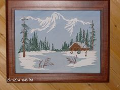 Natures Retreat Wall Hangings, 3 D, Frame, Nature, Painting, Home Decor, Homemade Home Decor, Painting Art, A Frame