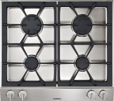 Gaggenau 24 Inch Gas Modular Cooktop with 4 Sealed Burners, BTU High-Output Burners, Cast-Iron Pan Support and Safety Thermocouple Ignition Loft Style Homes, Cast Iron, It Cast, Laundry Appliances, Neutral Kitchen, Burner Covers, Steel Detail, Design Your Kitchen, Kitchen Models