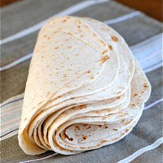 Homemade flour tortillas – you'll never go back to store bought tortillas!