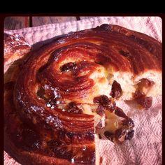 Pain aux raisins or French raisins roll