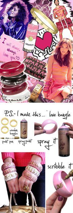 I love you bracelets