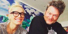 Blake Shelton Gets Intimate With Gwen Stefani's…Photo? | One Country Blake Shelton Gwen Stefani, Blake Shelton And Gwen, Gwen Stefani And Blake, Miranda Lambert Wedding, Miranda Lambert News, David Burtka, Neil Patrick Harris, True Love Couples, Cute Couples