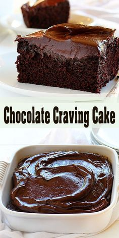 Chocolate cravings cannot be ignored! This perfectly proportioned cake will definitely satisfy every single craving. Crazy Cake Recipes, Crazy Cakes, Cupcake Recipes, Cupcake Cakes, Dessert Recipes, Cupcakes, Just Desserts, Delicious Desserts, Yummy Food