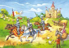 praatplaat: ridders